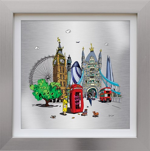 One Was Here by Dylan Izaak - Framed Limited Edition Aluminium Print